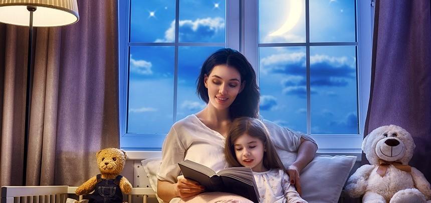 هفت روش که خواندن قصه شب را هیجان انگیزتر می کند